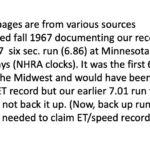 News Record 6 sec run 9/67
